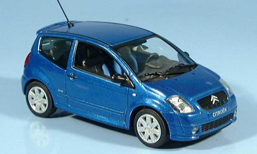 Citroen C2 1/43 Norev bleu  2003 miniatura