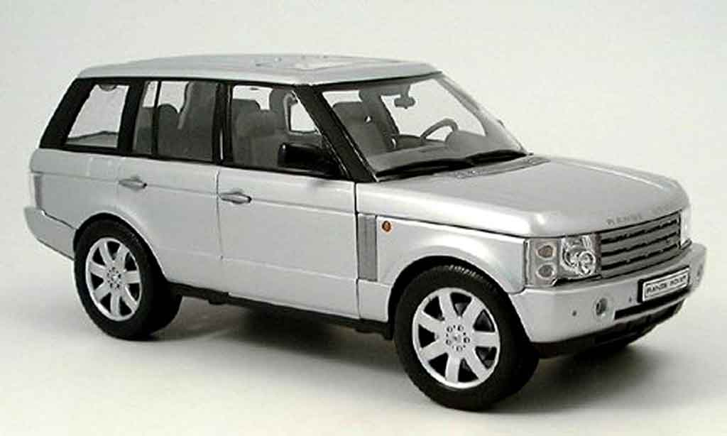 Range Rover Sport 1/18 Welly grise 2003 miniature