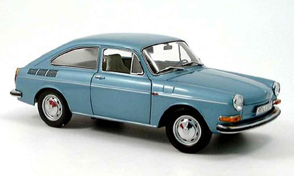 Volkswagen 1600 1/18 Minichamps turquoise 1970 diecast