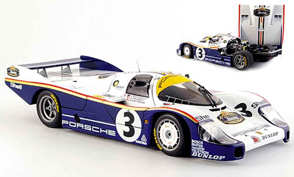 Porsche 956 1983 1/18 Minichamps l no.3 sieger 24h le mans miniature