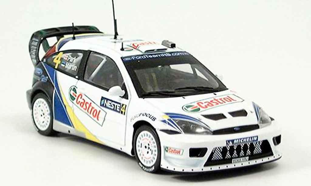 Ford Focus RS WRC 1/43 Minichamps Finland Maertin Park Sieger 2003 miniature
