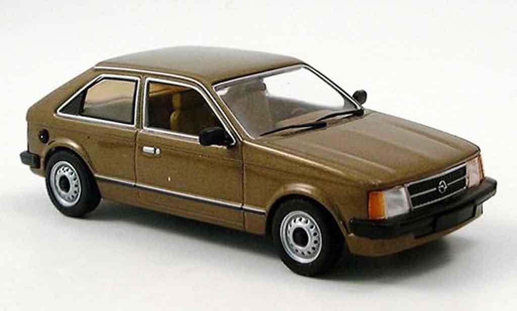 Opel Kadett D 1/43 Minichamps marron 1979 diecast