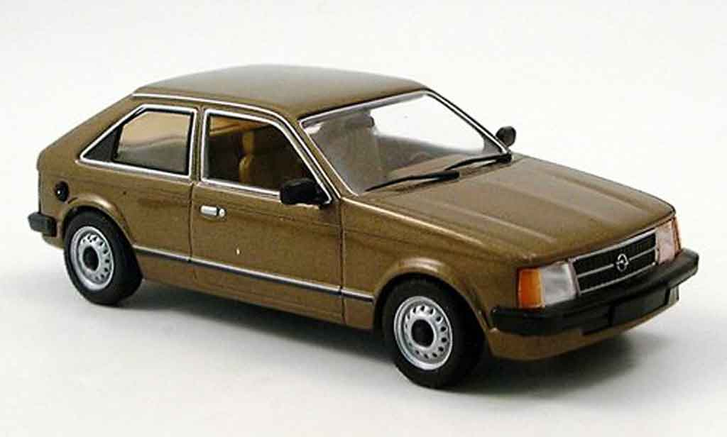 Opel Kadett D 1/43 Minichamps marron 1979 miniature