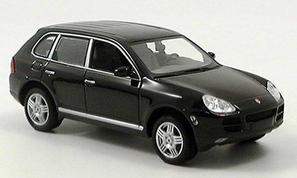 Porsche Cayenne S 1/43 Minichamps noire 2002 miniature