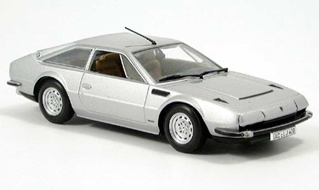 Lamborghini Jarama 1/43 Minichamps gray  1974 diecast