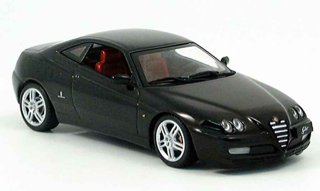 Alfa Romeo GT 3.2 1/43 Minichamps V black 2003 diecast model cars