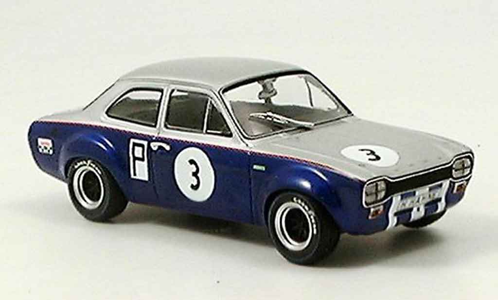 Ford Escort MK1 1/43 Minichamps I TC Nurburgring Hahne 1968 miniature