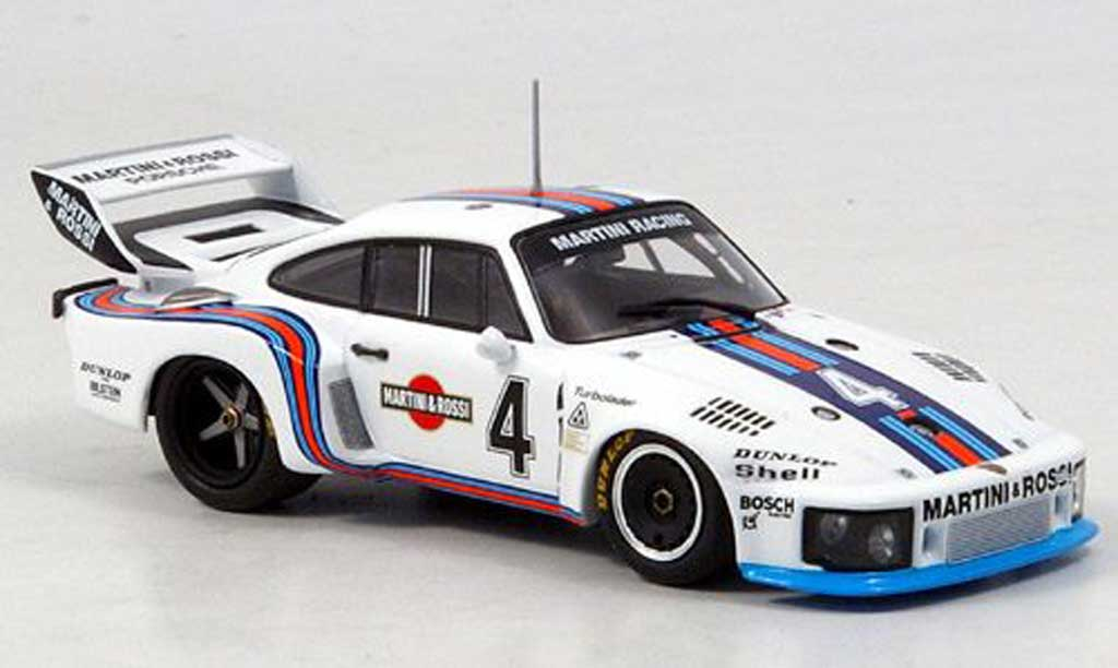 Porsche 935 1976 1/43 Minichamps No.4 Team Martini 6h Watkins Glen diecast model cars
