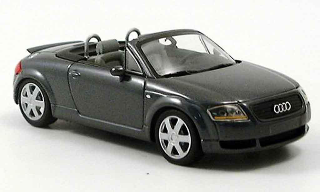 Audi TT Roadster 1/43 Minichamps gray 2000 diecast