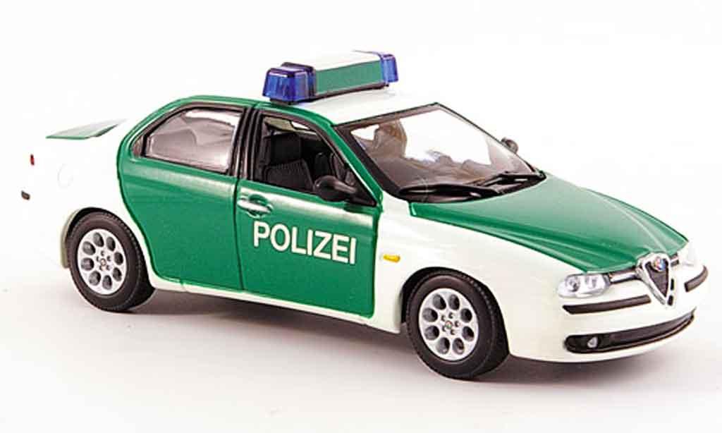 Alfa Romeo 156 1/43 Minichamps police deutschland 1997 diecast
