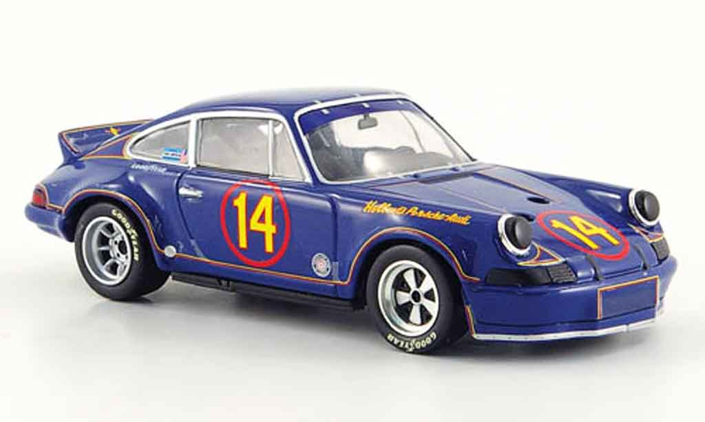 Porsche 911 RSR 1/43 Minichamps Carrera 2.8 Holbert 1973 diecast