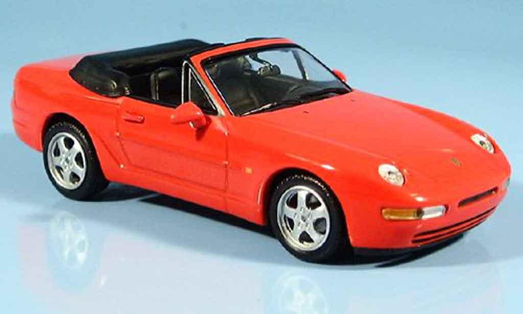 Porsche 968 Cabriolet 1/43 Minichamps rouge 1994 miniature