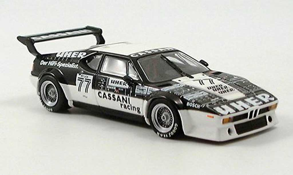 Bmw M1 1979 1/43 Minichamps Procar Stuck miniature
