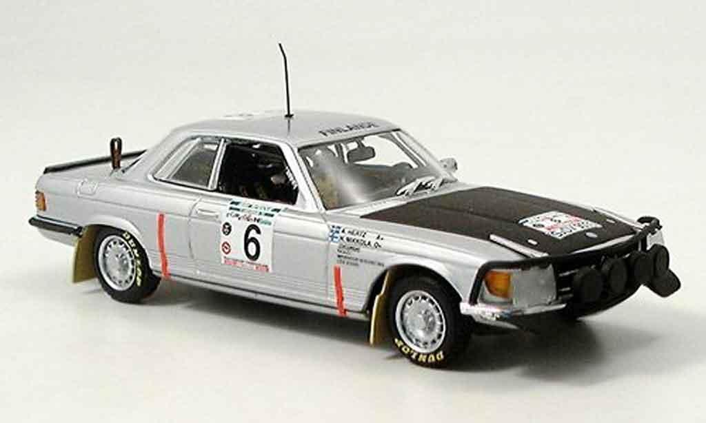 Mercedes 450 1/43 Minichamps SLC Bandama Mikkola Hertz Sieger 1979 miniature