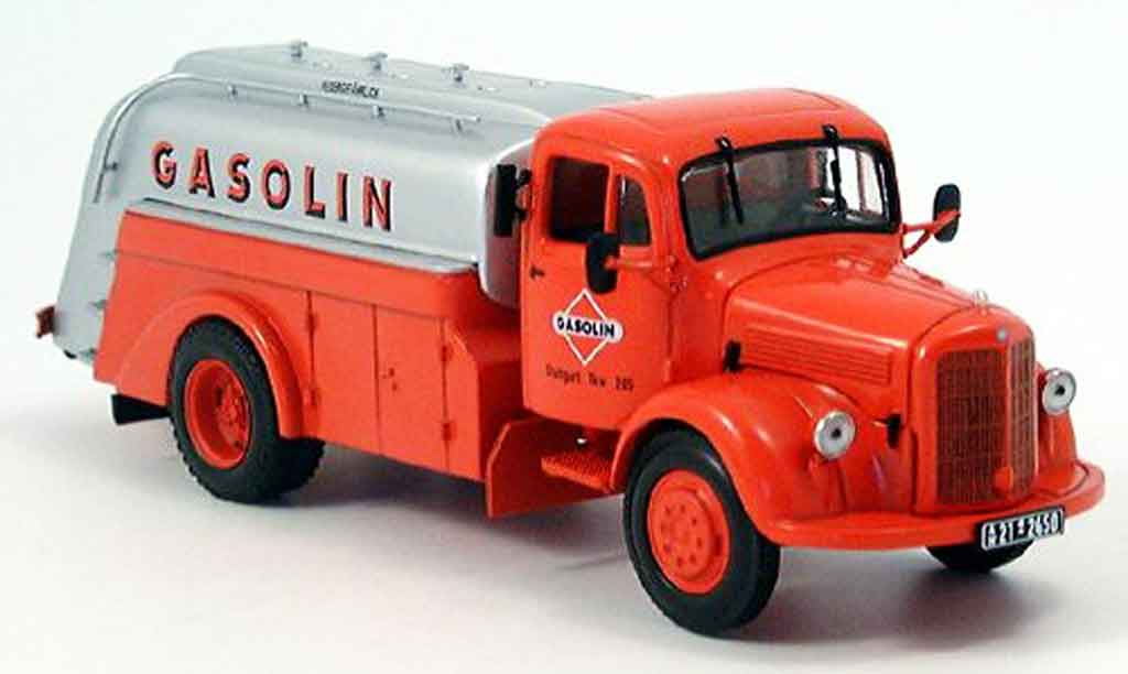 Mercedes L3500 1/43 Minichamps Tankwagen Gasolin miniature