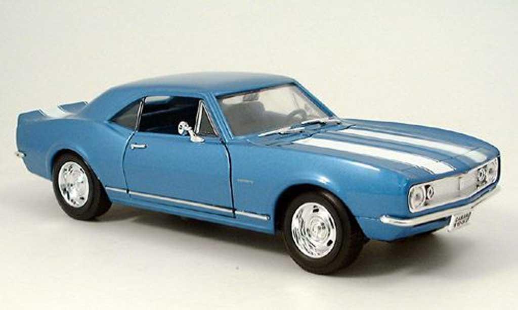 Chevrolet Camaro Z28 1/18 Yat Ming bleu 1967 diecast model cars