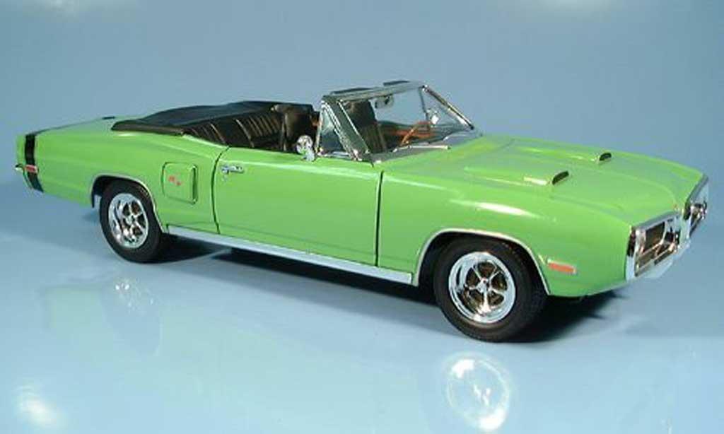Dodge Coronet 1970 1/18 Yat Ming R/T grun diecast model cars