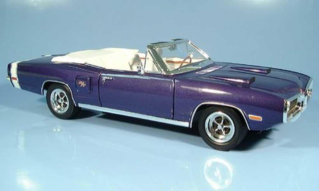 Dodge Coronet 1970 1/18 Yat Ming R/T lila diecast model cars