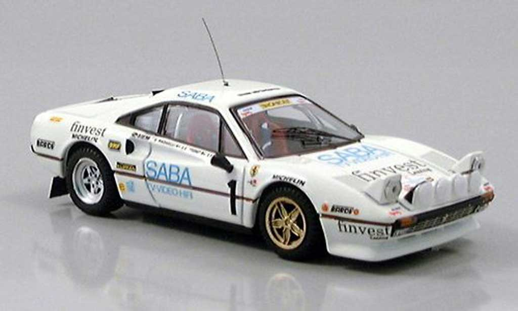 Ferrari 308 GTB 1/43 Best No.1 Tony-Radaelli 1983 diecast model cars