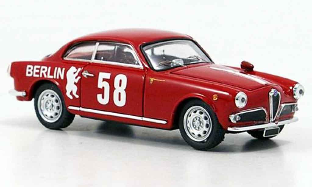 Alfa Romeo Giulietta 1/43 Bang no.58 schramm falk 1958 miniature
