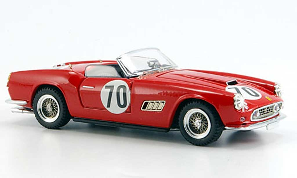 Ferrari 250 GT California 1/43 Art Model No.70 Sebring Ginther-Verly 1959 miniatura