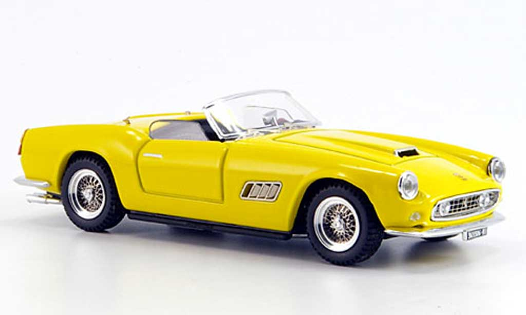 Ferrari 250 GT California 1/43 Art Model yellow 1959 diecast