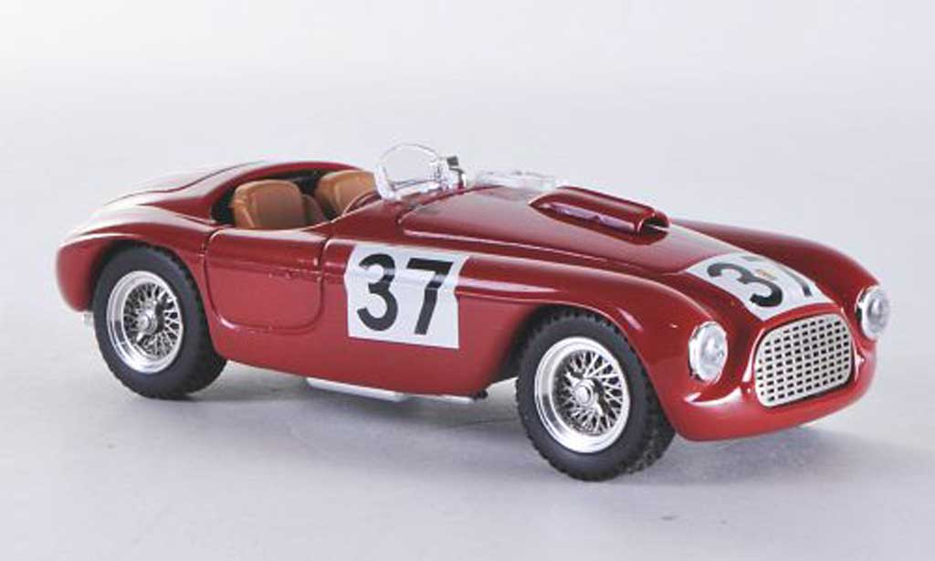 Ferrari 166 1950 1/43 Art Model Spider MM Silverstone Serafini No.90 miniature