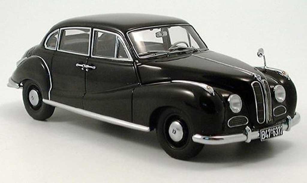 Bmw 501 1/18 Autoart limousine noire miniature
