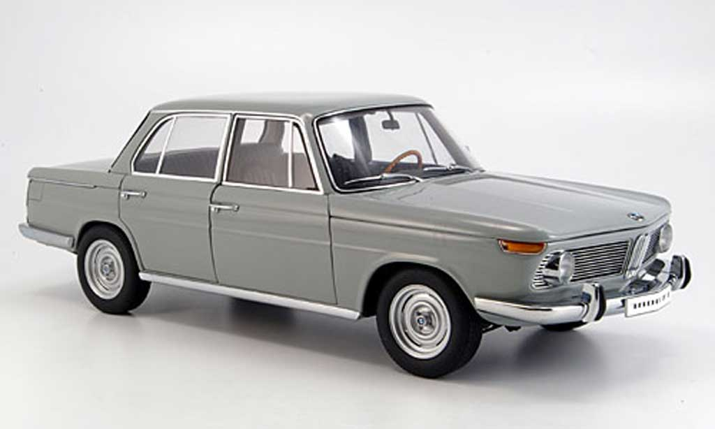 Bmw 1800 1/18 Autoart ti sa grey 4-turer strassenversion diecast model cars