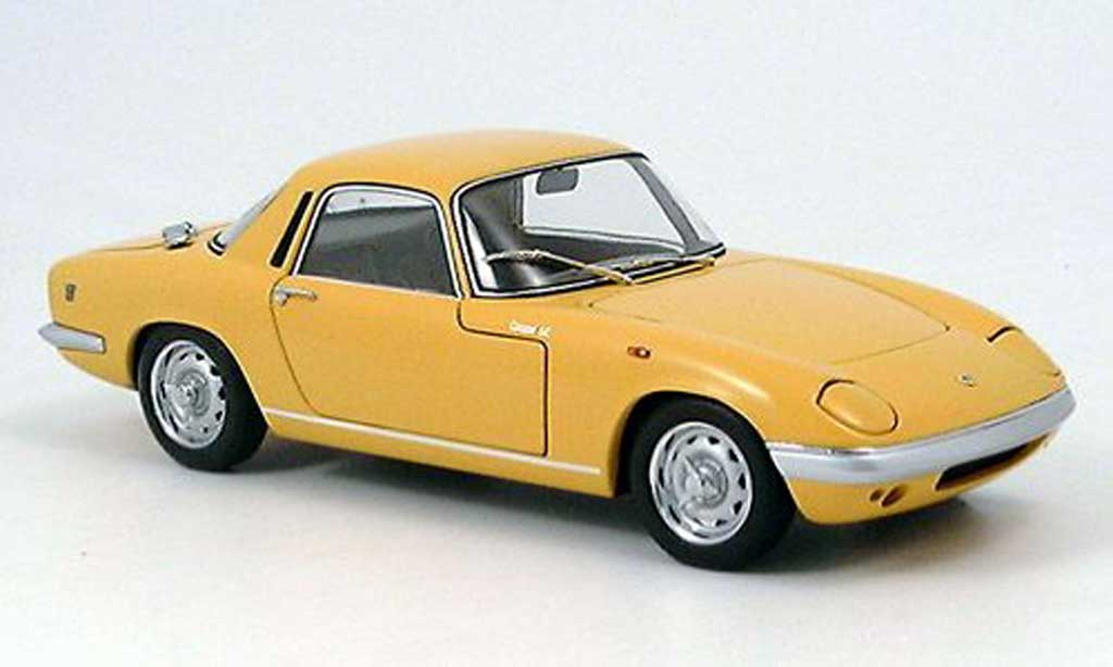 Lotus Elan 1/18 Autoart coupe s/e s3 yellow diecast model cars