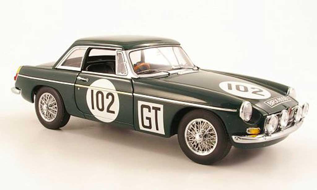 MG B 1/18 Autoart GT MKII No.102 Nurburgring 1967 miniature