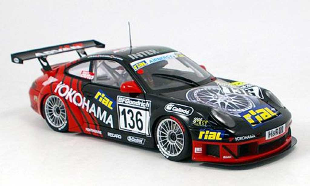 Porsche 996 GT3 RSR 1/18 Autoart no.136 nurburgring 2005 diecast model cars
