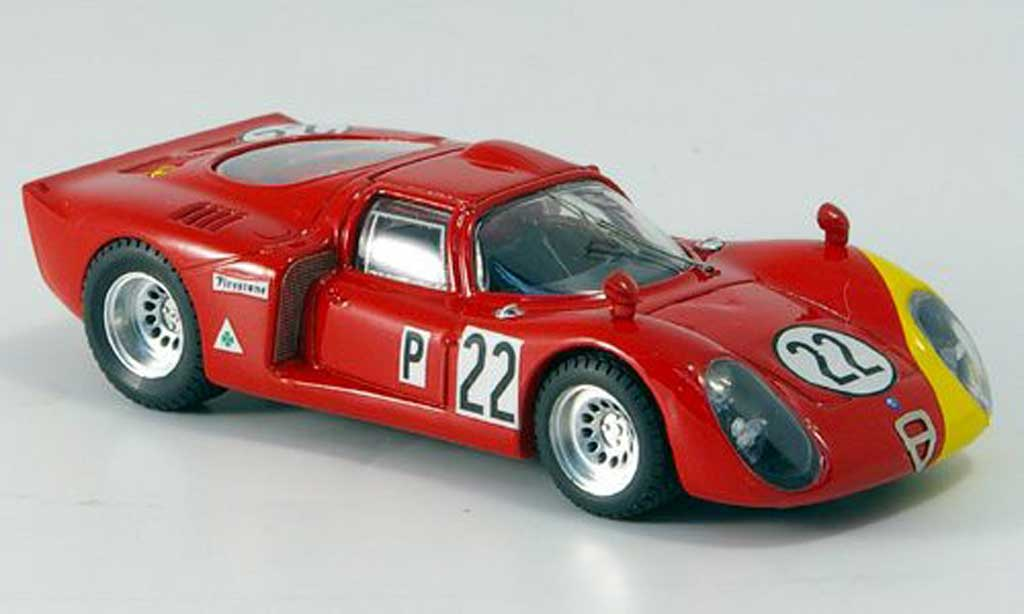Alfa Romeo 33.2 1968 1/43 Best No.22 Casoni/Biscardi Daytona miniature