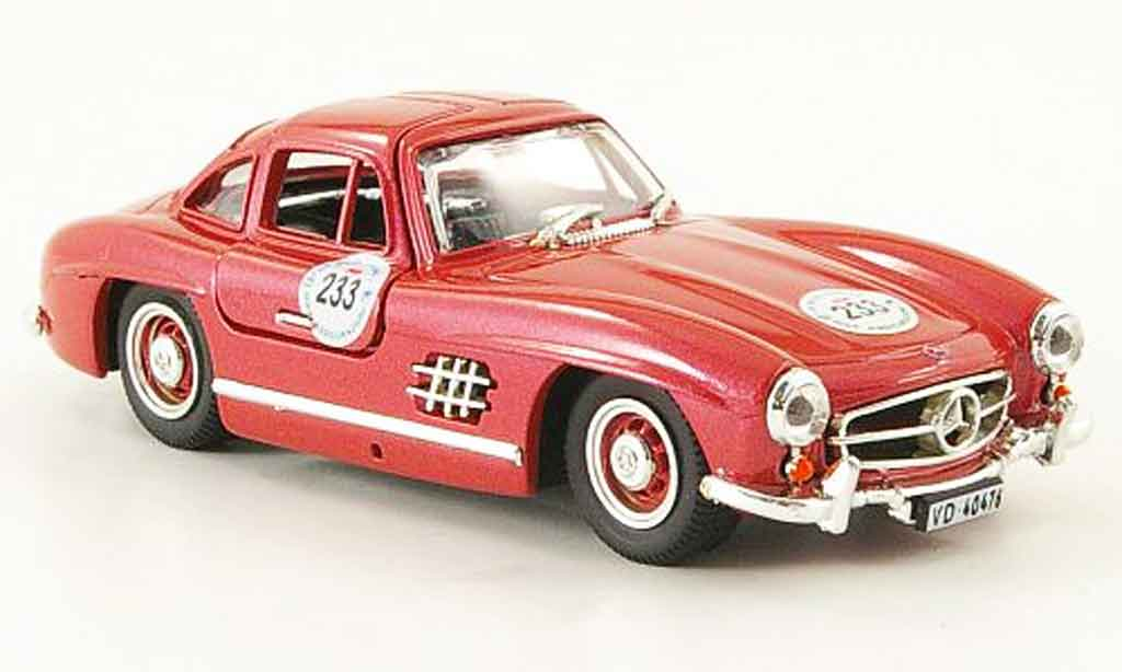 Mercedes 300 SL 1/43 Bang SL MM miniature