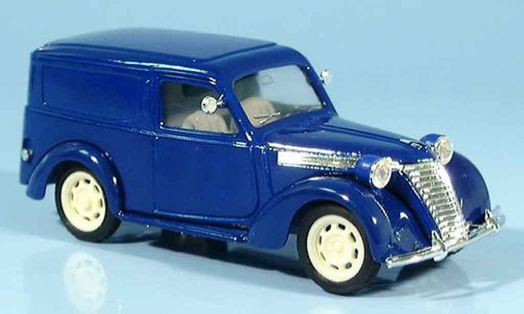 Fiat 1100 1949 1/43 Brumm E bleu Kastenwagen diecast