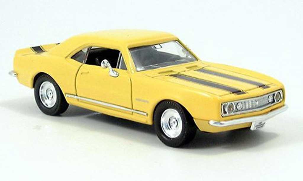 Chevrolet Camaro Z28 1/43 Yat Ming jaune/noire 1967 miniature
