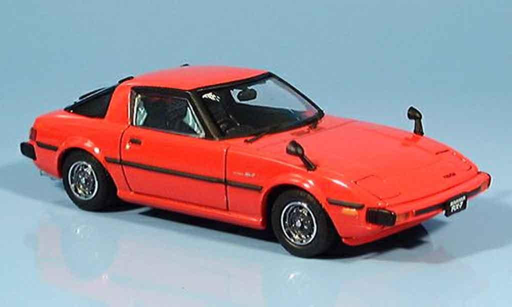 Mazda RX7 1982 1/43 Ebbro Savana GT red 1982 diecast
