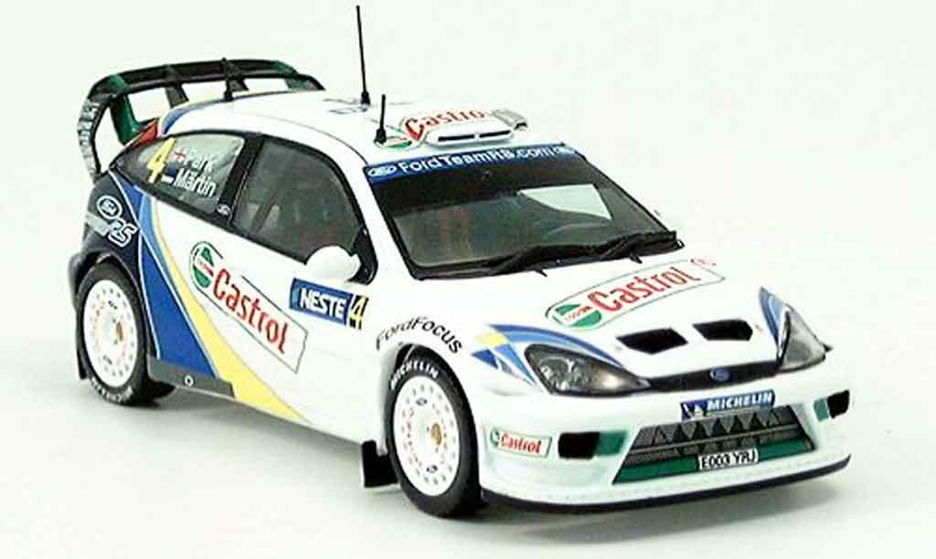 Ford Focus EVO 1/43 IXO EVO Sieger Finland 2003 miniature