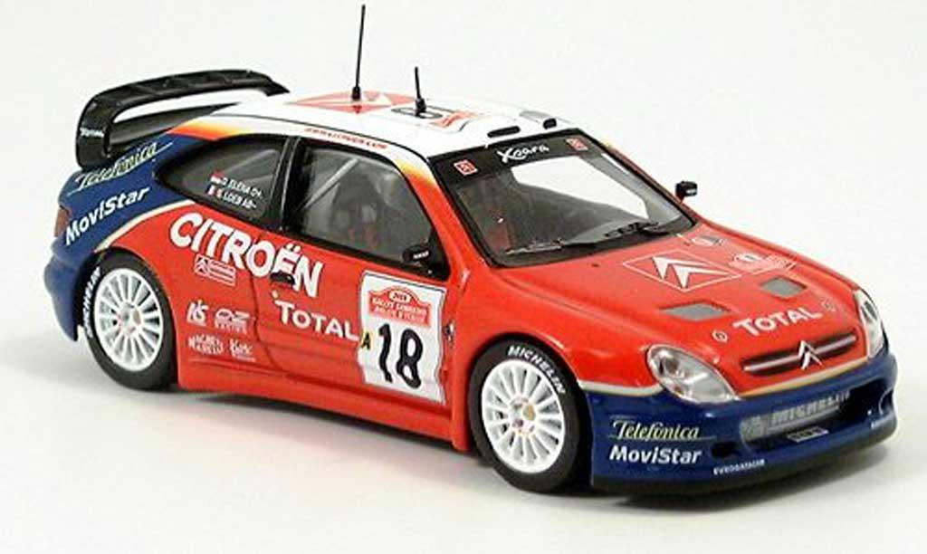 Citroen Xsara WRC 2003 1/43 IXO Sieger Sanremo miniature