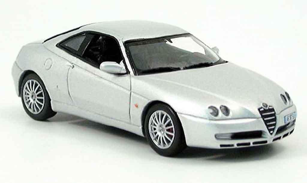 Alfa Romeo GTV 3.2 1/43 Norev gray metallisee 2003 diecast