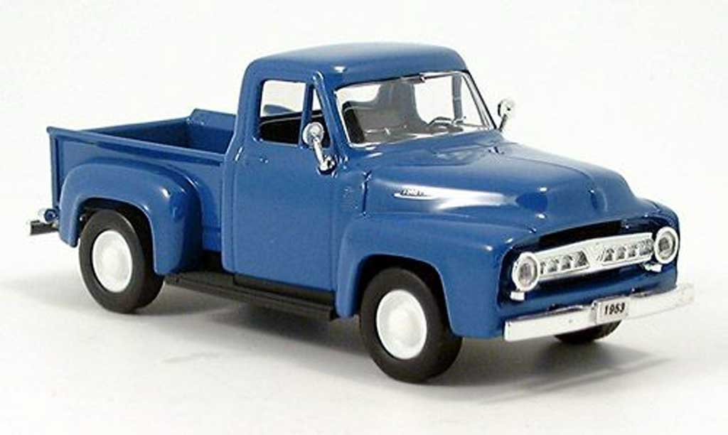 Ford F-100 1/43 Yat Ming F 100 Pick Up bleu 1953 miniature