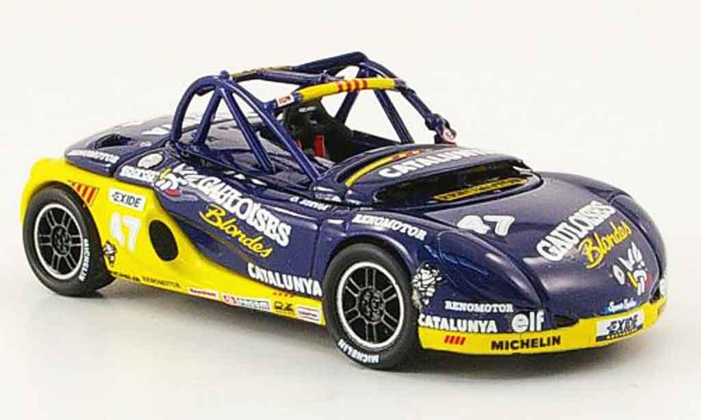 Renault Spider 1/43 Onyx no.47 gauloises spider eurocup 1998 miniature