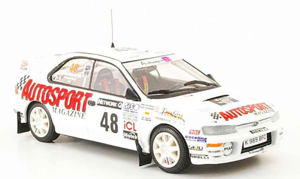Subaru Impreza 1/43 Trofeu r. duckworth rac 1998 miniature