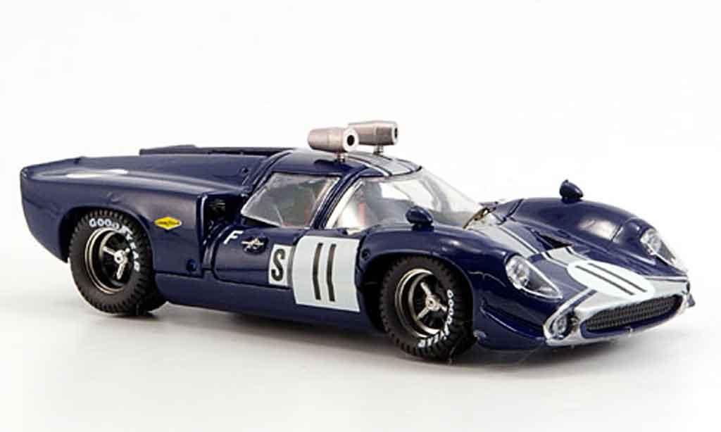 Lola T70 1/43 Best Coupe No.11 Uda Dibley Sebring 1968 coche miniatura