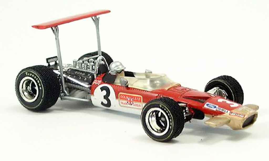 Lotus 49B 1/43 Quartzo no.3 or leaf m.andretti gp south africa 1969 miniature
