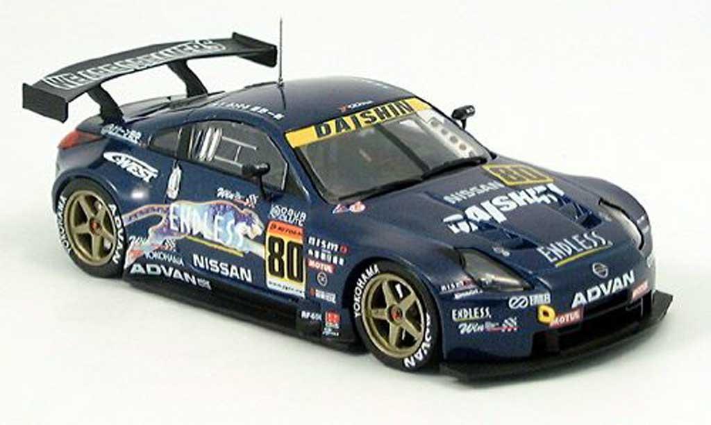 Nissan 350Z 1/43 Ebbro Fairlady JGTC GT 300 2004 modellautos