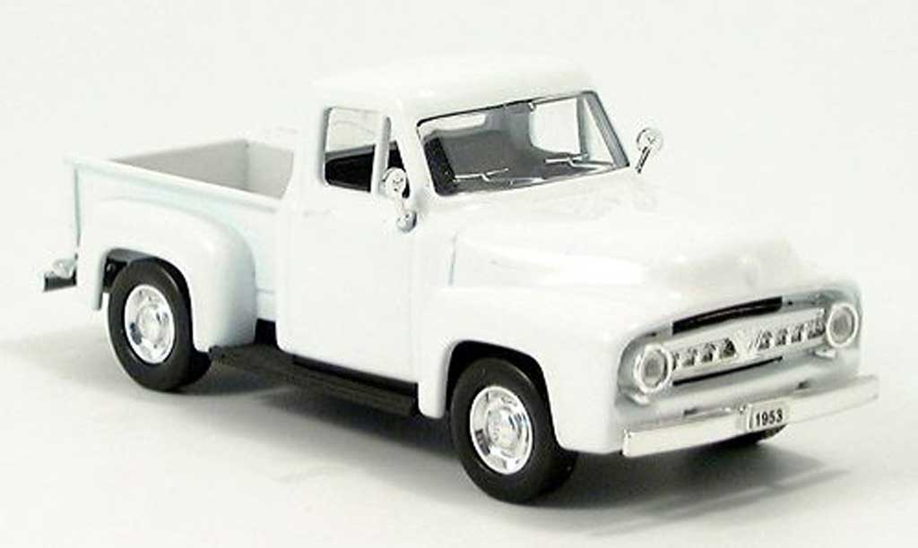 Ford F-100 1/43 Yat Ming F 100 Pick Up blanche 1953 miniature