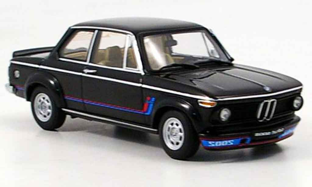 Bmw 2002 Turbo 1/43 Autoart black 1973 diecast