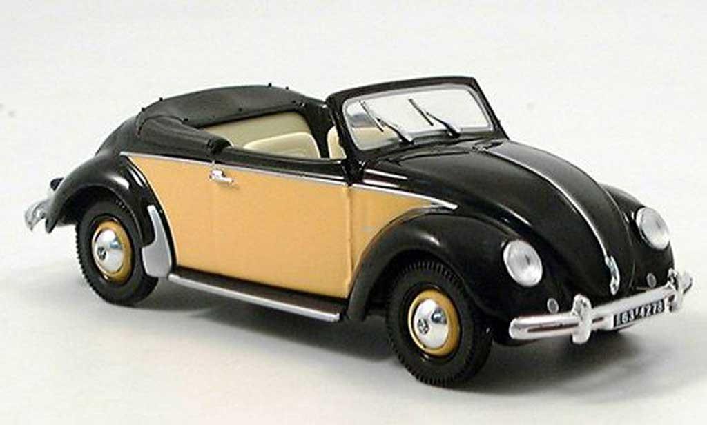Volkswagen Kafer 1/43 Norev Hebmuller Cabriolet miniature