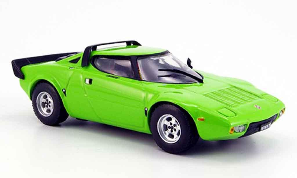 Lancia Stratos HF 1/43 Vitesse grun diecast model cars